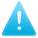 alert, exclamation, message, warning icon